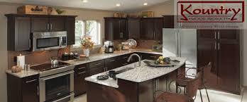 Manufactured Kitchen Cabinets Kitchen Elegant Kitchen Cabinets Design With Kountry Cabinets