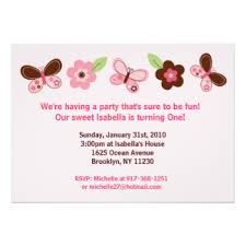 butterfly first birthday invitations u0026 announcements zazzle