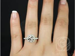 morganite gold engagement ring rosados box 8mm white gold morganite halo