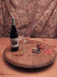 Glass Lazy Susan Turntable by Accessories Wine Barrel Lazy Susan Rustic Lazy Susan Wine