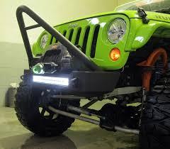 led lights for jeep wrangler jk bumper and led light combo stinger