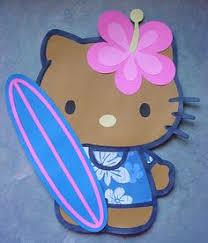 Hello Kitty Hanging Decorations Hawaiian Hello Kitty Hanging Ceiling Decoration Total Of 3