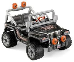 kids electric jeep powered kid cars power wheels tough talking jeep wrangler review