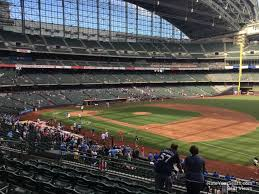 Miller Park Seating Map Miller Park Section 210 Rateyourseats Com
