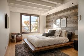 urban bedroom design rustic with reclaimed wood panel beds