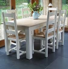 Shaker Dining Room Chairs Painted Shaker Farmhouse Table Chairs By Rectory Blue