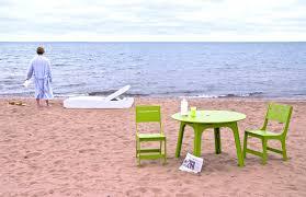 contemporary dining table polyethylene rectangular round