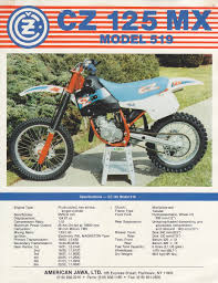 cz motocross bikes found some old brochures here u0027s a cz model 519 old moto