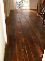 distressed wood floors interior design ideas