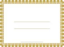 blank certificate border templates free resume sample for h1b visa