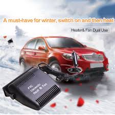automotive heater defroster fan portable auto heater defroster 12v car electric travel