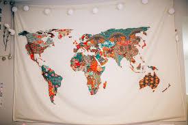 World Map Bedding New Year New Room Boho Chic Bedding With Pbteen U2013 Worldwidestylista