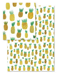 pineapple wrapping paper pineapple party repeat pattern wrapping paper design tammie