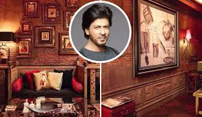 srk home interior shahrukh khan house mannat inside