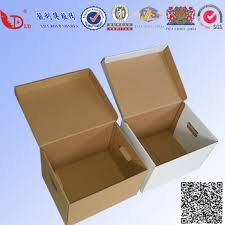 Decorative File Storage Box With Handle Holes For fice Bank To