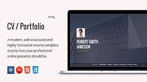 Portfolio Folder For Resume Cv Portfolio U2013 Responsive Resume Website Templates And Themes