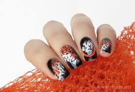 orange chains u2013 mari u0027s nail polish blog