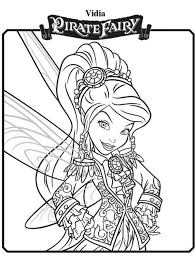 vidia u2013 new tinkerbell u0026 pirate fairy coloring pages pirates