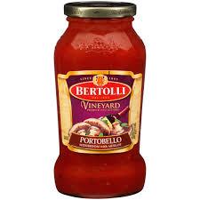 bertolli vineyard portobello mushroom with merlot pasta sauce 24