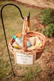 bug spray for guests for outside weddings wedding ideas
