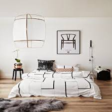 ideas chic white walls brown furniture bedroom condo with white