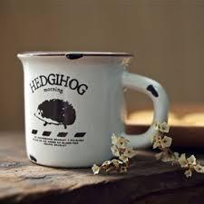 new keyama do the old ceramic imitation enamel breakfast milk mugs
