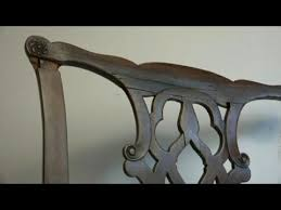 Antique Chair Repair Antique Chippendale Chair Repair Youtube
