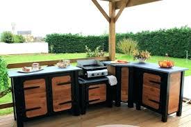 cuisine extérieure d été cuisine d ete en bois cuisine exterieure photo cuisine d ete