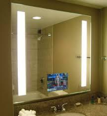 Electric Mirror Bathroom Big Bathroom Mirror Trend In Real Interiors