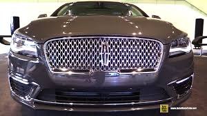 lincoln 2017 2017 lincoln mkz exterior and interior walkaround 2016 detroit