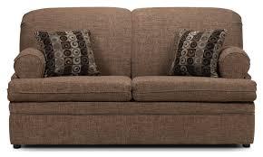 nichols full sofa bed pecan leon u0027s