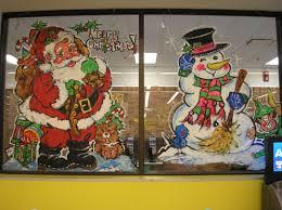 Thanksgiving Window Paintings Seasonal Window Art Drawing Attention