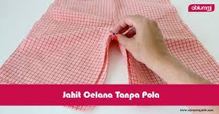 dasar membuat pola baju ebook download mudah tanpa pola yuk buat sendiri celana anak kita abi ummi