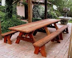 marvelous fancy picnic table and picnic table plans free and fancy