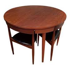 Teak Table And Chairs For Sale by Vintage U0026 Used Dining Table U0026 Chair Sets Chairish