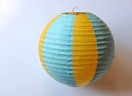 How To Make Paper Air Balloon Lantern - paper lantern air balloons make lovely