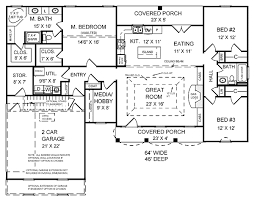 charming bungalow house plans 2000 square feet 8 sq ft home act