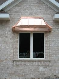 Copper Awnings For Homes Architectural Copper Architectural Roof Lines