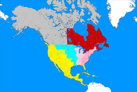 Alternate History Maps Canada The Independent Canada Alternate History By Louisthefox