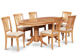 Oval Oak Dining Table Oval Dining Table Set 73 With Oval Dining Table Set Home And