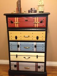 How To Mix Old And New Furniture American Flag Dresser Boys Dresser Pinterest Dresser Flags