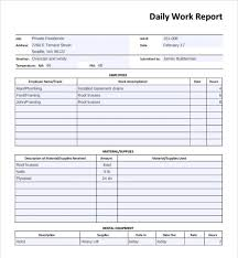 daily activity report template daily activity report template excel professional and high