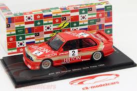 bmw e30 model car ck modelcars sa035 bmw e30 m3 2 winner macau guia race 1988