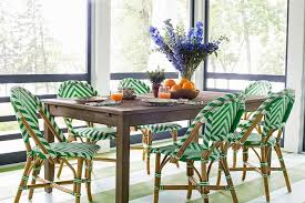 rattan dining chairs design ideas