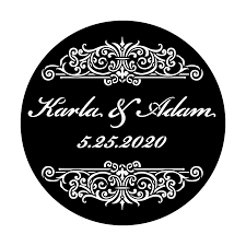 wedding gobo templates custom wedding templates apollo design