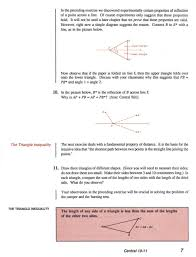 review of geometry a guided inquiry with home study companion by