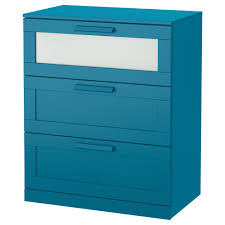brimnes 3 drawer chest white frosted glass 78x95 cm ikea