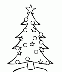 christmas free printable coloring pages christmasree