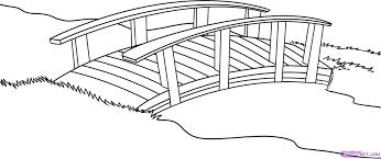 12 images of japanese bridge coloring page garden bridge