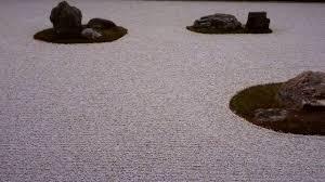 zen rock garden at ryōan ji temple kyoto japan youtube
